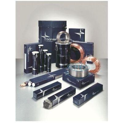 Porbeles huzal, Böhler EAS 4 PW-FD, erősen ötvözött, vegyileg ellenálló, ø 0,9 mm/12,5 kg