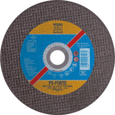 Darabolókorong, Pferd, inox, A46 PPSF-I, 178 x 2,5 x 22,2 mm