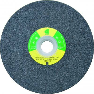 Köszörűkorong, Granit, 1C 60 K8 V36, 125 x 16 x 12,7