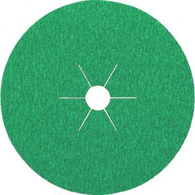 Rotasmirg tárcsa, Klingspor, CS570, inox, 125 x 22, K 80