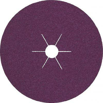 Rotasmirg tárcsa, Klingspor, CS561, acél, 125 x 22, K 120
