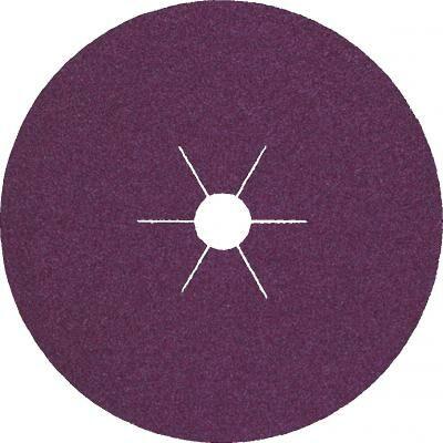 Rotasmirg tárcsa, Klingspor, CS561, acél, 125 x 22, K 100